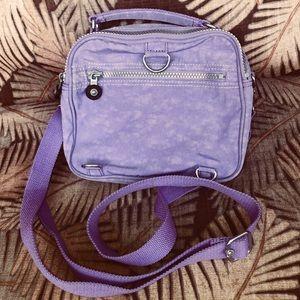 Kipling Candy Handbag Mini Backpack Euc Lavender